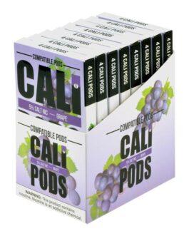 Cali Pods Grape 4 Pods