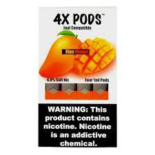 4X Ripe Mango 4 Pods