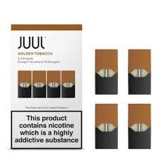 Juul Golden Tobacco Pods